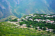 Mountain Village Halidzor View Fron Altitude In Armenia.