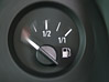 Instrument Moving Fuel Gauge stock photography