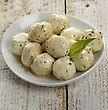 Mozzarella Cheese With Olive Oil ,Herbs And Spices