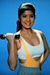 Asian exercising fitness exercise adult people asian stock photo