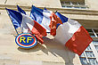 National Flag Of France. stock photo