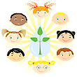 Nationality Boys And Girls.Multi Racial Children
