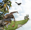 Nature Concept With Wild Animals stock image