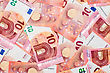 New Ten Euro Banknotes From The Europe Series stock photo
