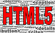 New Version Of Hyperlink Text Markup Language ? HTML5 stock image
