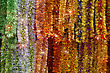 Magical new year colorful tinsel background stock image