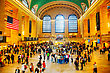 NEW YORK CITY - MAY 11: Grand Central Terminal With People On May 12, 2013 In New York City. It's The Largest Train Station In The World By Number Of Platforms And The World's Number Six Most Visited