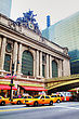NEW YORK CITY - MAY 11: Grand Central Terminal With People On May 11, 2013 In New York City. It's A Commuter (and Former Intercity) Railroad Terminal At 42nd Street And Park Avenue In Midtown Manhatta stock image