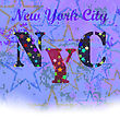 New York T-shirt Emblem.Print Typography. Retro Label. Vintage Sport Pattern. Starry Basketball Logo On Grunge Background