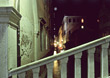 Night Scene in Venice Italy stock image