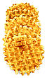 Number Of Golden Round Waffles