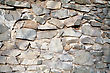 Stone and Rock Obsolete Wild Stone Wall Texture Pattern Background stock photo