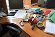 Office Table stock photography