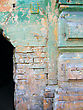 Old color wall.Antique stock photo