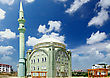 Orient Old, Great Mosque In Turkey stock photography