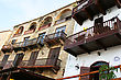 Old Houses In Kyrenia, Northern Cyprus. stock photography