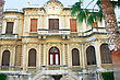 Old Library In Limassol, Cyprus stock photography