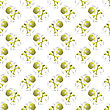 Old Retro Human Skull Seamless Random Pattern stock vector
