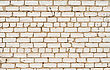 Stonemason Old White Brick Wall stock image