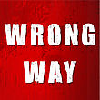 Mistake Old Wrong Way Sign In Vector Format stock vector