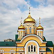One Of The Many Cathedrals Lipetsk. Central Russia. stock photography