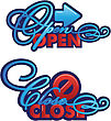 Open-Close Sign