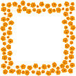 Orange Roses Border For Your Design