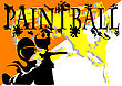 Paintball. Abstract Background. 10 EPS Without Gradients stock illustration