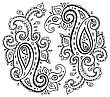 Paisley. Ethnic Ornament. Vector Illustration Isolated