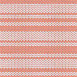 Pastel Pink And White Striped Knitted Background, Vector Illustration For Textile , Web, Paper, Valentine And Birthday Cards