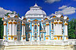 Decorated Pavilion Hermitage In Tsarskoe Selo. St. Petersburg, Russia stock photography