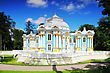 Pavilion Hermitage In Tsarskoe Selo. St. Petersburg, Russia stock photography