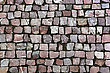 Paving Stones Street Background stock photo