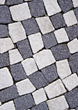 Paving Stones, White & Gray stock photography