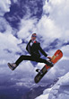 jumping sport snowboards business winter outdoor stock photo