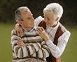 Retiring old poses people couples elder mature stock photography