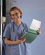 medical nurse female woman profession adults stock photography