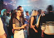 crowds nightclub disco people nightlife stock image