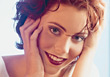 face beautiful happiness beauty young people stock photo