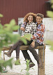 outdoors people couples lifestyles stock photo