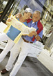 old travel adult people elder seniors stock photo