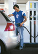 station gasoline vehicle male gasstation pump stock photography
