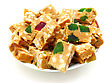 Confectionery Peanut Brittle stock image