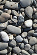 Pebbles On The Beach Of The Black Sea stock image