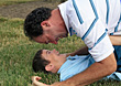 People Playing stock photography