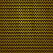 Perforated Pattern. Iron Background Witn Circle Holes