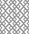 Perforated Small And Big Diamond.Seamless Geometric Background. Modern Monochrome 3D Texture. Pattern With Realistic Shadow And Cut Out Of Paper Effect