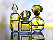 Perfume Assortment stock image