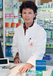 Pharmacist stock photography
