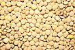 Pile Of Dried Lentils As A Background. stock photo